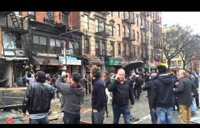 News video: Eyewitness Video of New York City Explosio